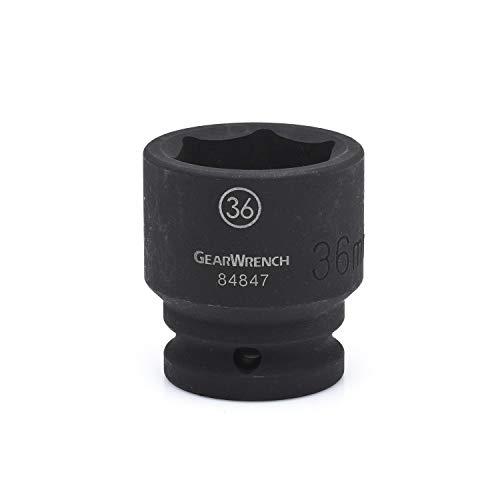 GEARWRENCH 3/4' Drive 6 Point Standard Impact Metric Socket 17mm - 84829