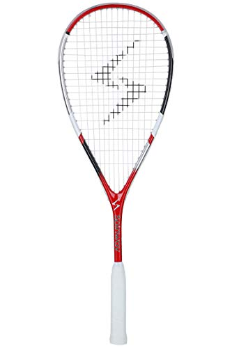 Spinway Professional Light Weight Squash Racket AK 50 with Comfortable Grip with Full Cover Bag