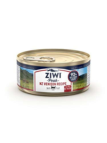 Ziwi Peak Canned Venison Recipe Cat Food (Case of 24, 3 oz. each)