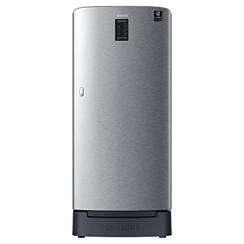 Samsung 198 L 3 Star Inverter Direct Cool Single Door Refrigerator (RR21A2D2YS8/HL, Base Stand with...