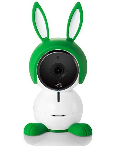 Arlo ABC1000 Baby Monitor Smart WiFi Full HD, audio 2 vie, visione notturna, sensori d'aria, ninna nanne, luci notturne, funziona con Alexa, Google Home, Apple HomeKit
