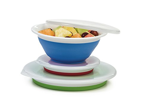 Progressive Prepworks Thinstore Collapsible Prep/Storage Bowls...
