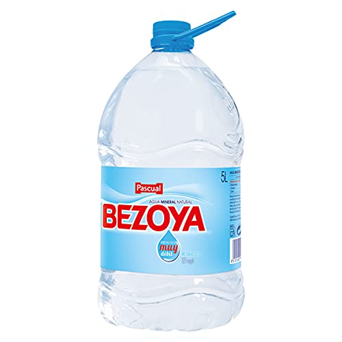 Bezoya – Agua Mineral Natural – 1 Garrafa x 5 L