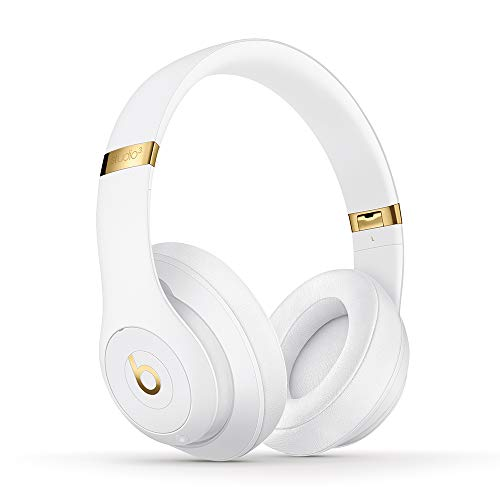 Beats Studio3 Wireless with Noise Cancellation - On-Ear Headphones - Apple W1 Chip, Class 1 Bluetooth, 22 Hours of Uninterrupted Sound - White