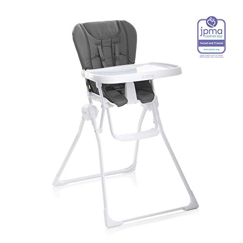 JOOVY Nook High Chair, Charcoal