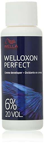 Wella Professionals Welloxon 6% (Deal) Emulsión Oxidante - pack de 2 x 60 ml (Total 120 ml)