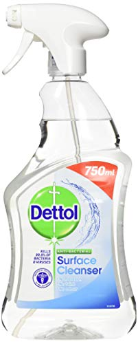 Dettol Antibacterial Surface Cleaning Spray, 750 ml, Pack of 6 (Packaging May Vary)