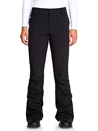 Roxy Creek, Pantaloni Guscio da Snowboard Donna, True Black, L