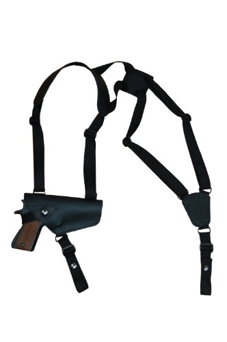 Barsony New Horizontal Black Leather Shoulder Holster for Beretta PX4 Storm Right