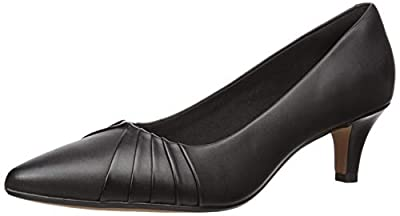 Heel Height 2.2 inches Comfort Features: Ortholite Footbed, Cushion Soft padding, Smooth Textile Linings, Durable Rubber outsole, Comfortable Heel Height Premium leather, suede, and textile