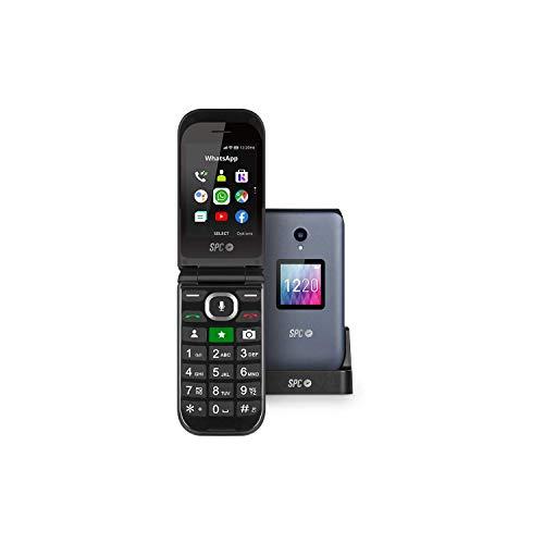 SPC Jasper Teléfono Móvil 4G con Whatsapp y Botón Sos para...
