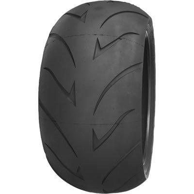200/50ZR-18 (76V) Shinko 011 Verge Rear Motorcycle Tire for Harley-Davidson CVO Softail Convertible FLSTSE 2010-2012