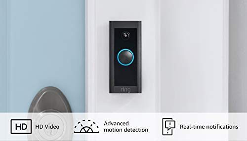 Ring Video Doorbell Wired – Convenient, essential features in a compact design