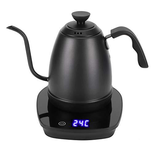 Shanrya Elektrischer Kaffeekessel, Küchengerät Hervidor Agua Pour Over Wasserkocher Elektrischer Kaffeekanne Bollitor Te für Küche für Familie