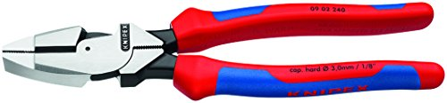 Knipex 09 02 240 SBA 9.5-Inch Ultra-High Leverage Lineman's Pliers