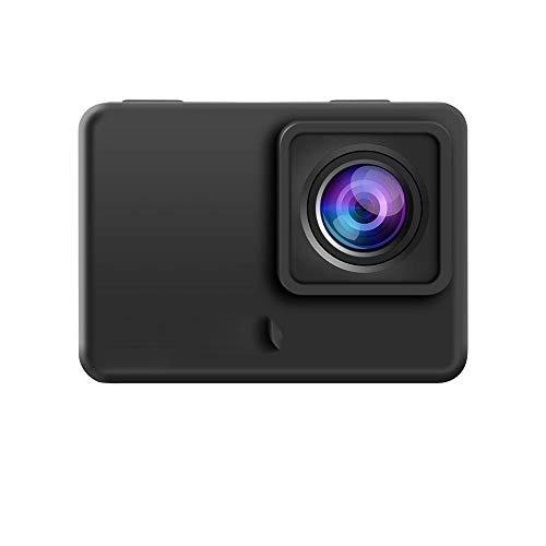Zoueroih FPV Camera 4K 60fps 30fps Fotografia Viaggi Cam Azione HD telecamere DVR Time-Lapse Loop for Esterni FPV di RC Drone (Color : Black, Size : 60mmx42mmx25mm)