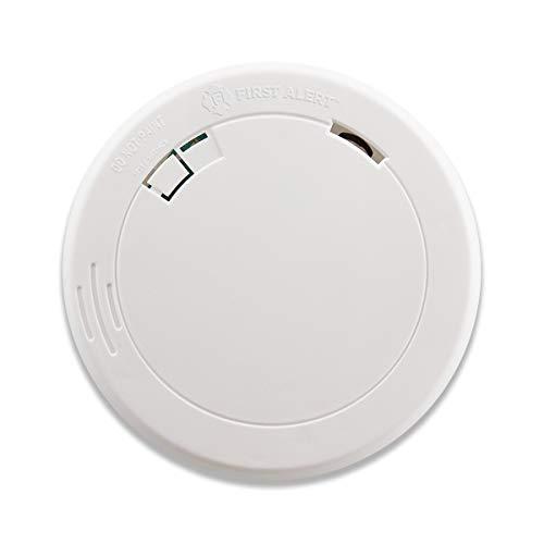 First Alert Alarma fotoeléctrica de Humo, Funciona con batería Delgada