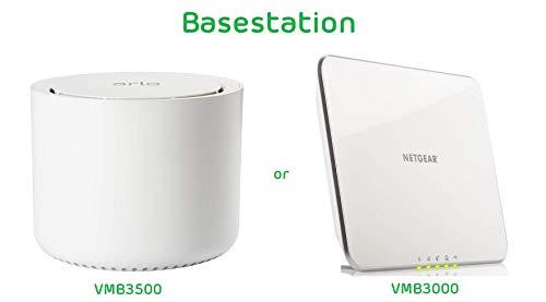 31M7tOBDpYL [Bon plan Arlo ] Caméra de surveillance Wifi Sans fils, Pack de 1 HD Jour/Nuit, Etanche IP65, Intérieur/Extérieur, Fixation A...