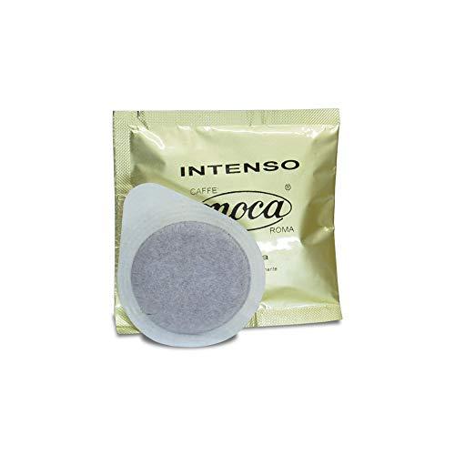 Caffè Moca Cialde ESE 44 mm Intenso Carta Filtro Compostabile Compofilt - 150 Cialde (100% Arabica)