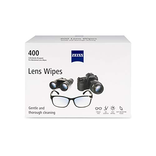 Zeiss Pre-Moistened Lens Cleaning Wipes 400 Count by Zeiss