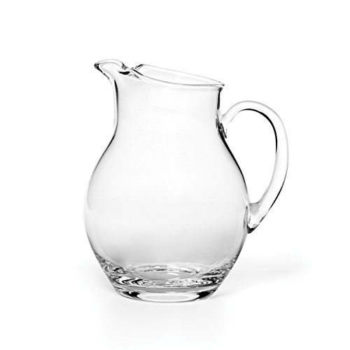 Glass Beverage Pitcher, 80-Ounce