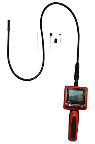 Vividia 9mm Portable Digital Flexible Inspection Camera with 2.4' LCD...
