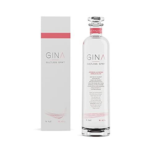 Gina Guiltless Spirit Bebida con Base London Dry Gin de 10º Baja en Calorías - 70 cl
