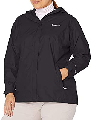ADVANCED TECHNOLOGY: Columbia Women's Arcadia II Jacket features our signature, air-permeable protection that's waterproof and breathable to shield you from drizzle to downpour. ADJUSTABLE FEATURES: This shell top jacket features an adjustable storm ...