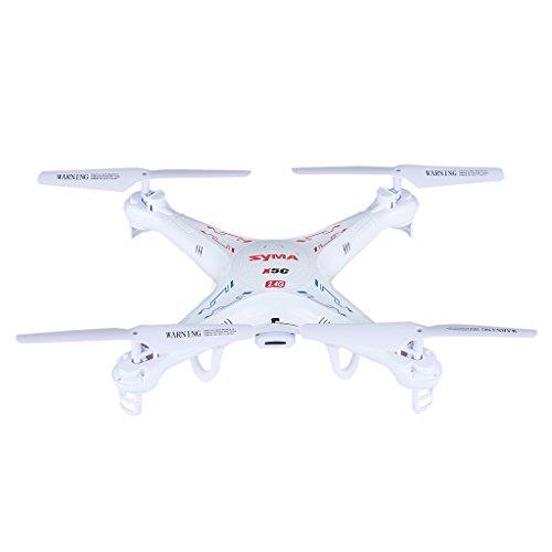 Syma X5C Explorers quadricottero VIDEOCAMERA 2.0MP HD 2.4G 4CH RTF 6 assi, bianco