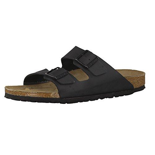 Birkenstock Schuhe Arizona Birko-Flor Schmal Black (051793) 40 Schwarz