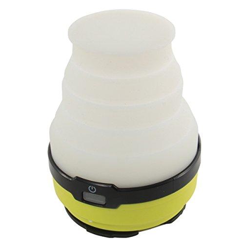 DOD(ディーオーディー) LED ソーラー ポップアップ ランタン USB充電(電池別売り) 連続点灯80時間 200ルー...