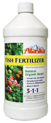 Alaska 100099247 32 Oz Fish Fertilizer Concentrate 5-1-1