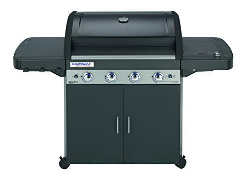 Campingaz 4 Series LS Plus Dual Gas Barbecue con 2 Grill, 4 Bruciatori in Acciaio Inox e 1 a Lato