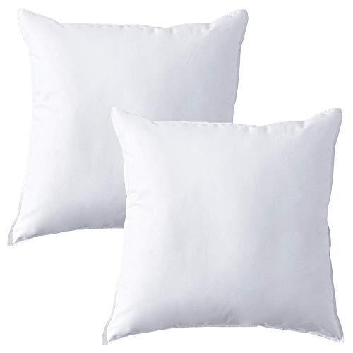 MACK - Set di cuscini Premium con imbottitura in piuma   cuscino in piuma per un sonno ristoratore  ...