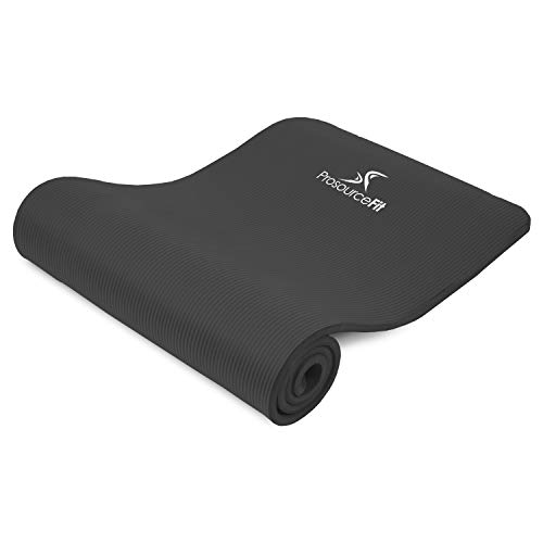 ProsourceFit Extra Thick Yoga and Pilates Mat, High Density...