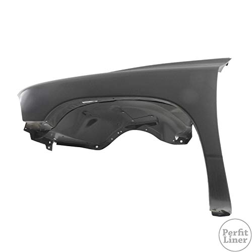 Perfit Liner New Replacement Parts Front Left Driver Side Fender Assembly Compatible With DODGE Durango Dakota Fits CH1240254 55255031AF