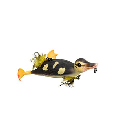 Savage Gear - Esca a forma di anatra 3D Suicide Duck Wobbler, esche per luccio, esche Wels, esche Waller, neutro