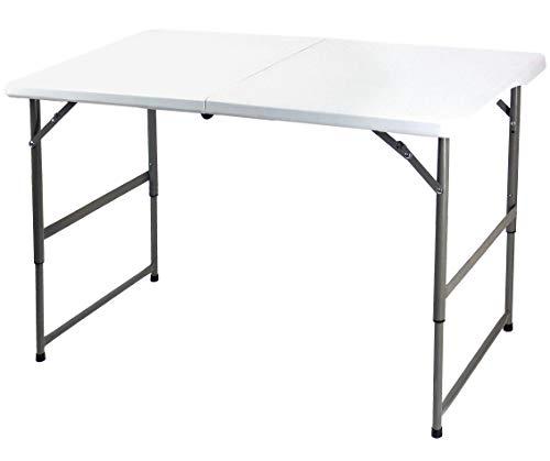 天板が強化プラスチックの折りたたみ作業テーブル 長さ120cm×奥行60cm