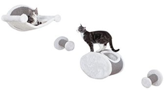 Trixie Pet Products Wall-Mounted Cat Lounging Set