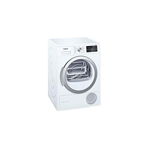 Siemens iQ500 WT47W491FF sèche-linge Autonome Charge avant Blanc 9 kg A++ - Sèche-linge (Autonome, Charge avant, Pompe à chaleur, Blanc, Rotatif, Tactil, Droite)
