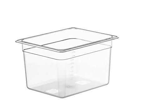 LIPAVI C10 - Contenitore Sous Vide 11 Litri, Policarbonato resistente e trasparente, 32.3 x 17.7 x 20cm