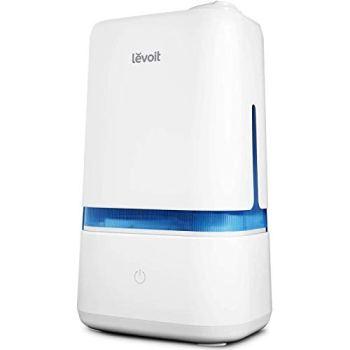 Levoit Humidificador Ultrasónico de Niebla Fría de 4L para Bebés (sin BPA), Difusor de Aroma, Funcionamiento Silencioso, Apagado Automático, con 3 Niveles de Niebla, Dura hasta 40 horas, Classic