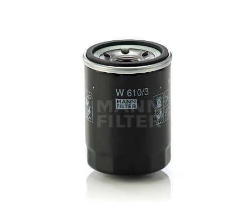 MANN オイルフィルター (フィアット/500チンクエチェント) W 610/3 【型式 ABA-31212 初年08/03-】