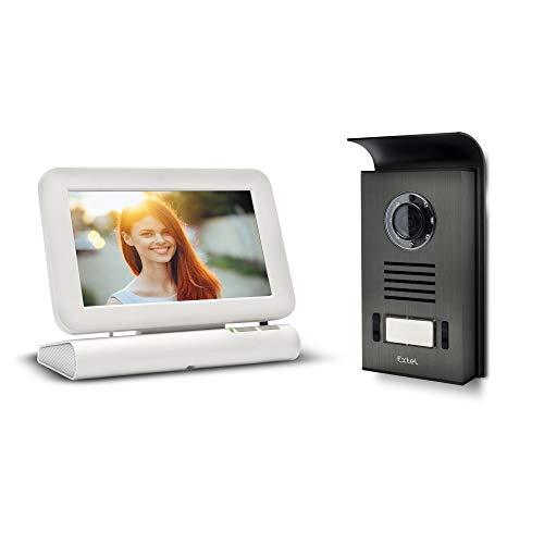 Extel - Visiophone sans fil couleur Lesli - Mémoire de passage photo et vidéo