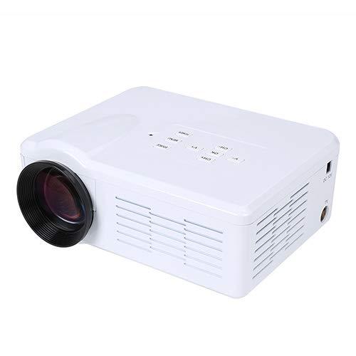 Vidéoprojecteur, YABER 5500 Lumens Video Projecteur Full HD 1080P (1920 x 1080) Retroprojecteur avec Haut-parleurs Stéréo HiFi, Projecteur LED Compatible VGA HDMI AV USB pour Home Cinéma