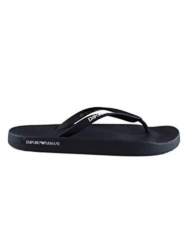 Emporio armani - K001 beach slippers black/black X4QS03XM290