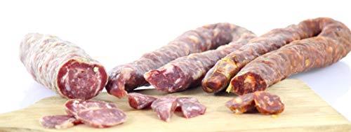 Lot de Charcuteries de l'Aveyron - Viande 100 % Coche - Saucisson, saucisse et chorizo