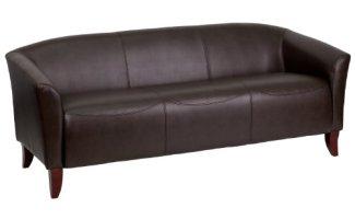 Flash Furniture HERCULES Imperial Series Brown Leather Sofa