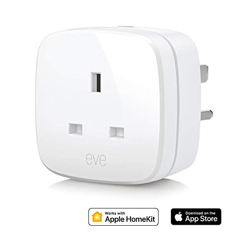 Elgato Eve Energy (UK) - Switch & Power Meter with Apple HomeKit technology, Bluetooth Low Energy