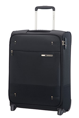 Samsonite Base Boost Upright S Bagaglio a Mano, 55 cm, 41 L, Nero (Black)